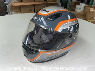 KTM Motorcycle Helmet (M)