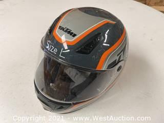 KTM Motorcycle Helmet (L)