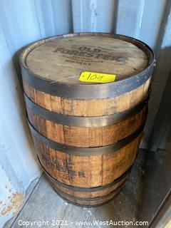 Old Forester Whisky Barrel