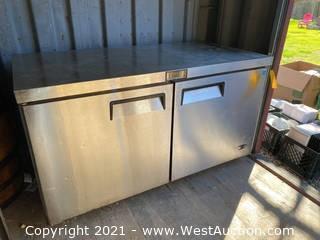 Atosa 60″ Undercounter Refrigerator