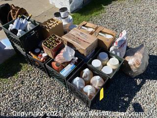 Bulk Lot: Perishables; Hot Sauces, Condiments, and More