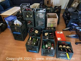 Bulk Lot: Assorted Spirits and Liquors (21+)