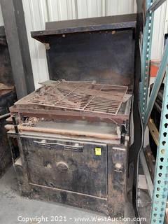 Wedgewood Cast Iron Oven - Antique