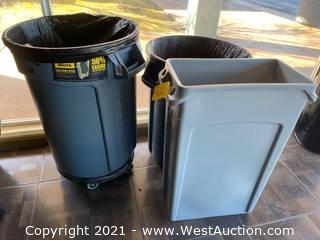 (3) Large Waste Bins