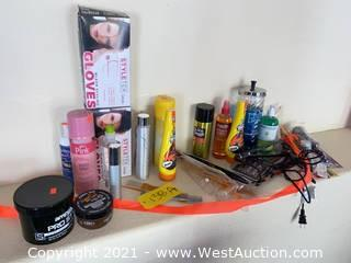 Assorted Beauty Supplies - Newly Purchased Unused