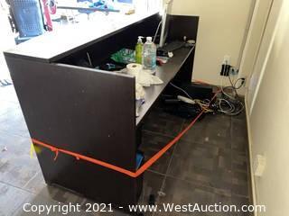 Reception Desk & Contents