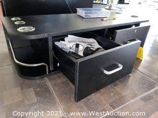 Cosmetic 2-drawer Countertop