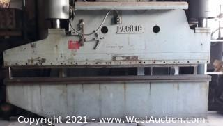 200 Ton 10' Pacific Hydraulic Press Brake