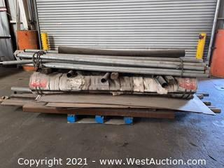 Bulk Lot of Steel and Galvanized Piping