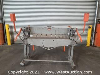 Heller Manual Press Brake