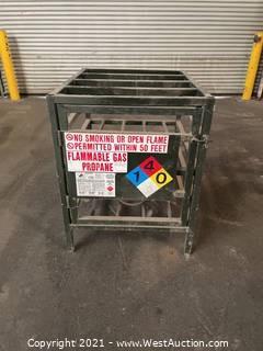 Propane Tank Cage