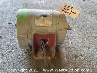 Westinghouse ABDP 5 HP Motor