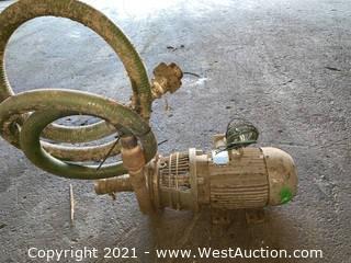 WEG 5 HP Motor
