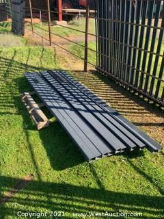 Steel Beams For Rod Iron Fence