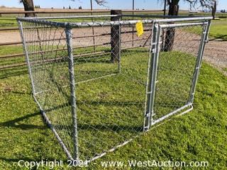 6' x 6' Chain Link Enclosure