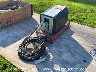 Dayton 4Z327B Electric Winch