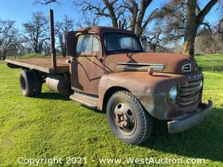 1950 Ford F-6 Flatbed Truck