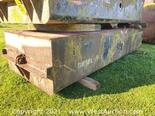 3'x8'x1.5' Metal Diesel Fuel Tank
