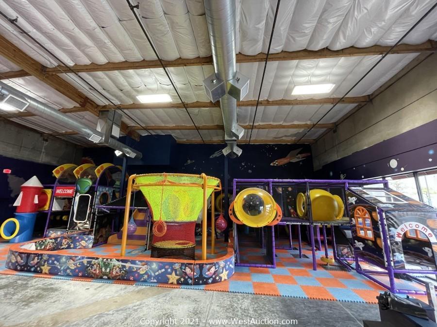 Online Auction of Indoor Playground