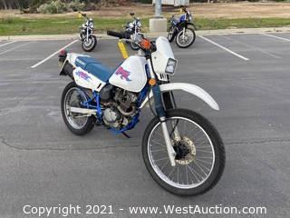 1994 Suzuki 125 Electric Start Motorcycle