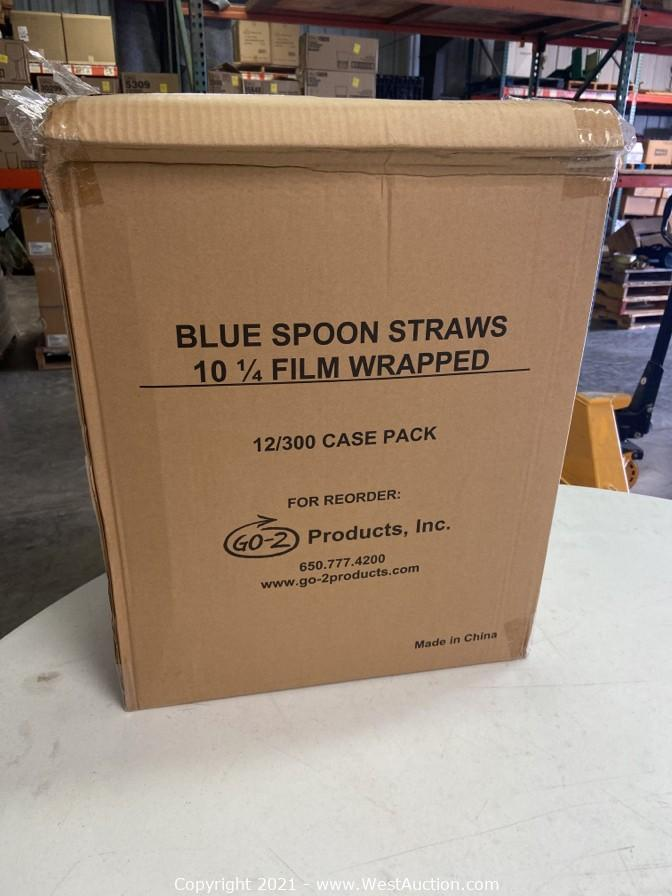 Surplus Restaurant Supply Auction: 5,000+ Glassware Varieties, Straws, Napkins, Candles and More