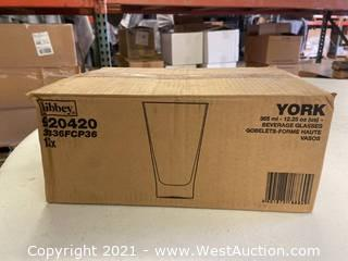 (2) Boxes Of (12) 12.25 Oz Beverage Glasses (920420)