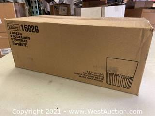 (4) Boxes Of (36) 8.5 Oz Rocks Glasses (15626)