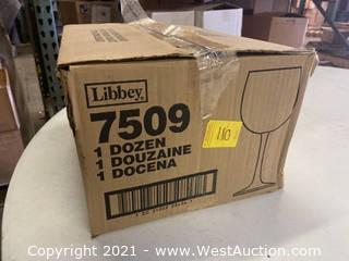(1) Box Of (10) 16 Oz Balloon Glasses (7509)