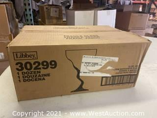 (1) Box Of (12) 12 Oz Z-Stem Margarita Glasses (30299)