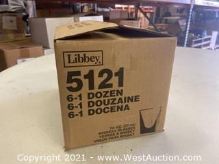 (1) Box Of (72) 1.25 Oz Whiskey Glasses (5121)