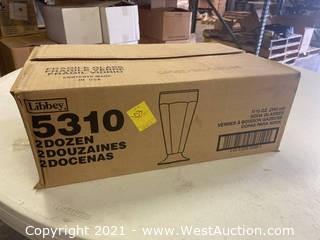 (1) Box Of (24) 11.5 Oz Soda Glasses (5310)