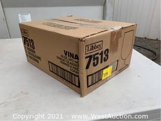 (4) Boxes Of (12) 16oz Goblet Glasses (7513)
