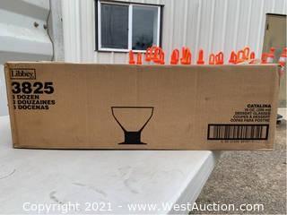 (1) Box Of (36) 10oz Dessert Glasses (3825)