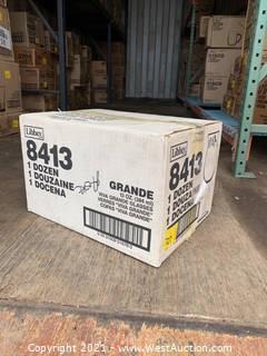 (1) Box Of (12) 13oz Viva Grande Glasses (8413)