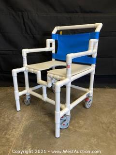 Direct Supply SC550P Shower Chair Commode