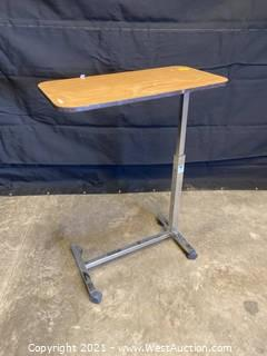 Direct Supply H-Base Adjustable Height Rolling Table