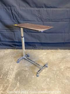 Drive Medical HX5 Adjustable Height Rolling Table