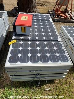 (10) Sunny Boy Solar Panels