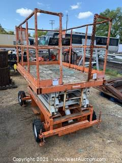 HunterLift 16' Scissor Lift