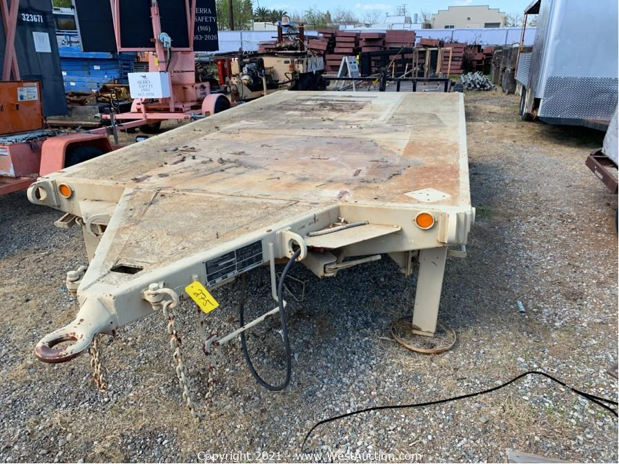 Online Auction of Step Vans, Buses, Trailers, Construction Equipment, Commercial Kitchen Equipment, and More