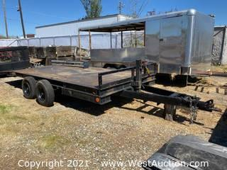 Steel Flat Bed Trailer
