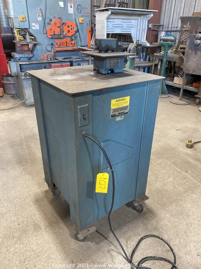 Online Auction of Sheet Metal and Structural Steel Design Equipment