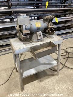 Baldor 1-1/2 H.P. Grinder with Table