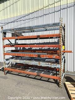 (1) Section Of 8' Pallet Racking