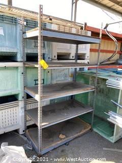 2'x4'x7' Metal Shelving Rack