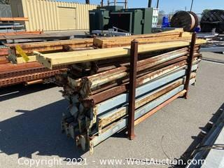 (35+) 8' And (2) 10' Pallet Racking Crossbeams