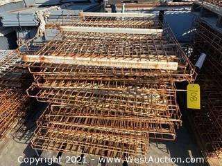 "(20+) 50""x39"" Pallet Racking Metal Wire Decking"