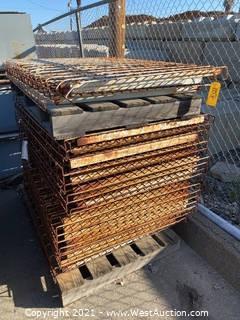 """(23) 50""""x39"""" Pallet Racking Wire Decking"""