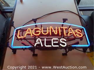 Neon Lagunitas Ales Sign