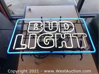 Neon Bud Light Sign